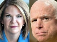 Exclusive — Breitbart/Gravis Arizona Poll Shows Razor Thin Margin Between John McCain, Kelli Ward Heading into Election