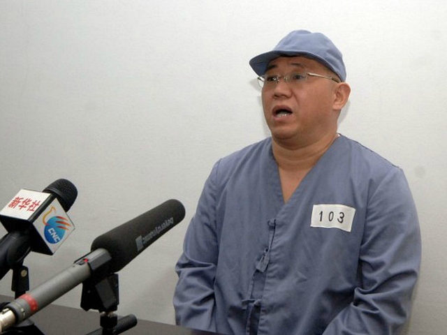 Kenneth Bae, a Korean-American Christian missionary who has been detained in North Korea for more than a year, appears before a limited number of media outlets in Pyongyang in this undated photo released by North Korea's Korean Central News Agency (KCNA) on January 20, 2014.... REUTERS/KCNA/FILE PHOTO