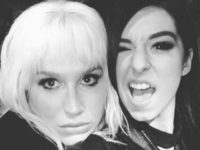 Kesha and Christina Grimmie