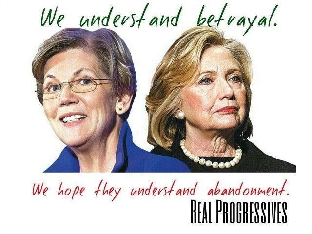 Bernie Sanders Supporters Promote 'Clinton Cash' While Bashing Elizabeth Warren for Endorsing Hillary Clinton
