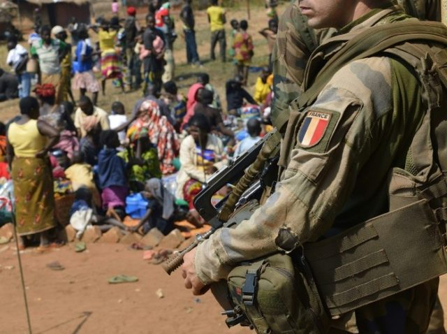 Sixteen people have been killed in two days of clashes in Central African Republic