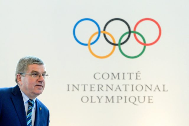 International Olympic Committee (IOC) president Thomas Bach arrives at the opening of an Olympic summit in Lausanne, Switzerland, on June 21, 2016