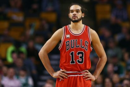 In nine seasons with the Chicago Bulls, Joakim Noah has averaged 9.3 points, 9.4 rebounds and 3.0 assists a game in the NBA