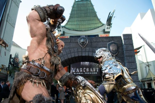 "Based on the global smash hit video game World Of Warcraft, the film ""Warcraft"" features the initial battles between humans and orcs"