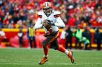 Johnny Manziel was released by the Cleveland Browns in March after going 2-6 in his eight NFL starts