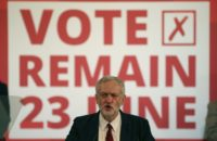 Jeremy Corbyn, leader of the opposition Labour party, is officially backing the campaign for Britain to remain in Europe but has been keeping a low profile
