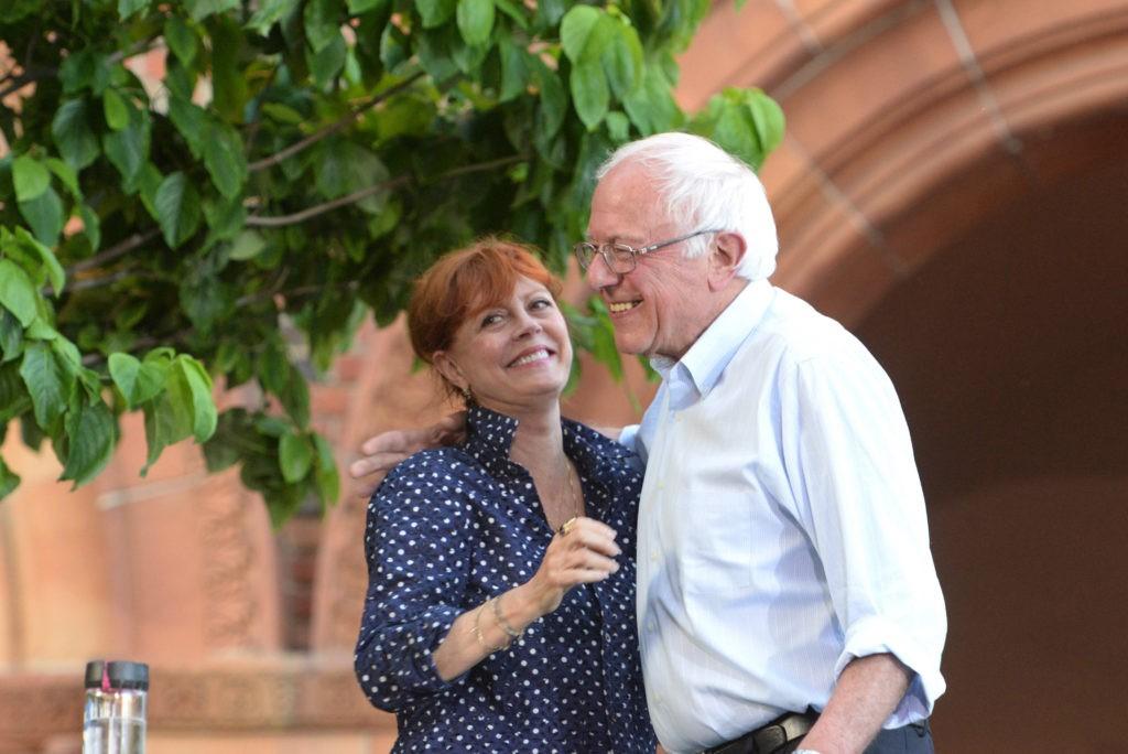 Bernie Sanders Susan Sarandon