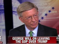 George Will on Why He Really Supports Hillary Clinton: 'I'm a Conservative'