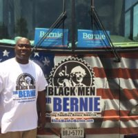 Live Coverage from 'Black Men for Bernie' Event Outside Democratic National Convention