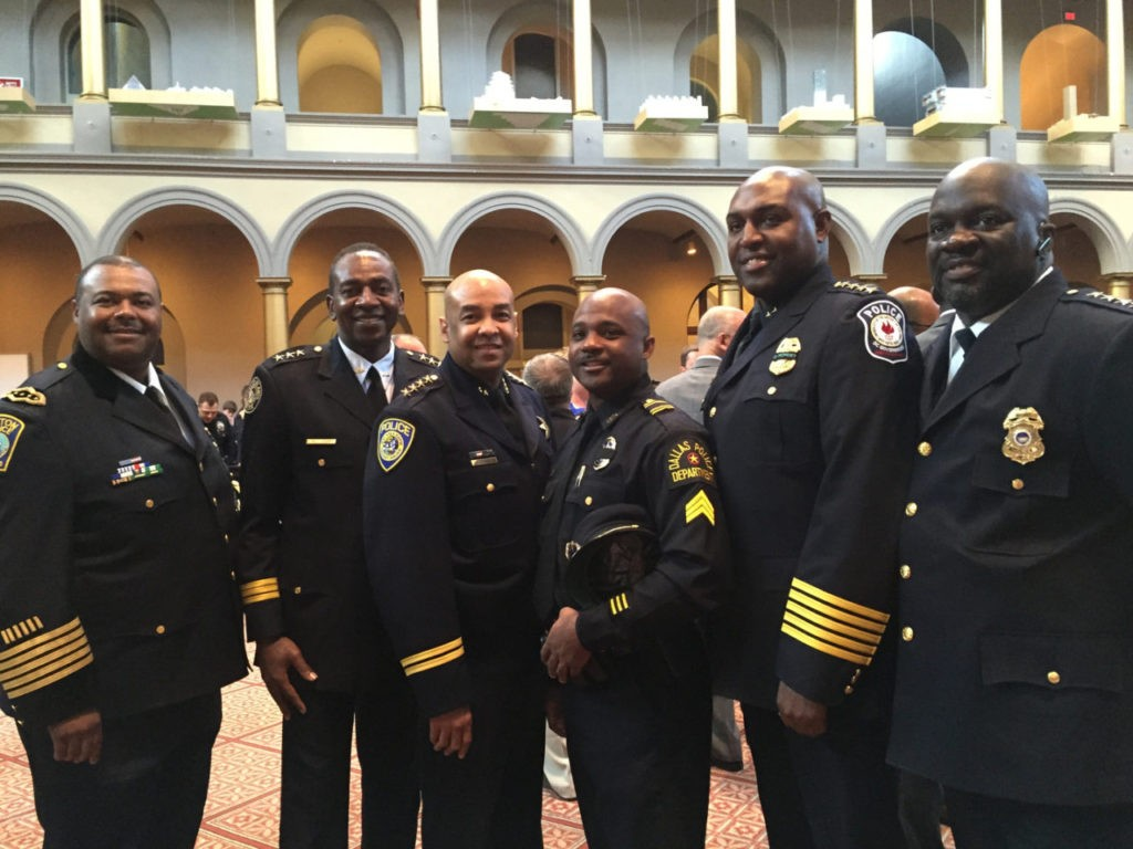 Dallas Fallen Officer Foundation Photo: SGT. Pennie 3rd from right.