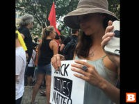 Ashley Judd Joins Black Lives Matter March Outside DNC