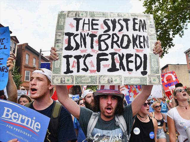Bernie-Sanders-Protester-DNC-Getty