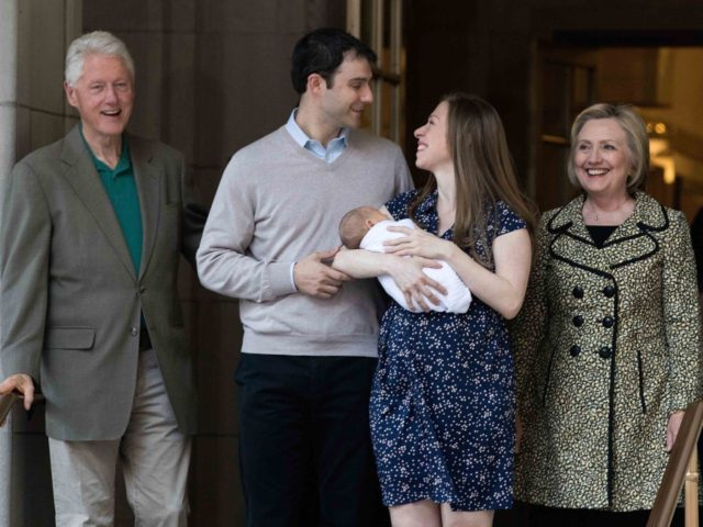 Clintons and Mezvinsky (Drew Angerer / Getty)