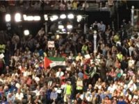 Old Glory's Old News To The New Democrats As The Palestinian Flag Flies At The DNC