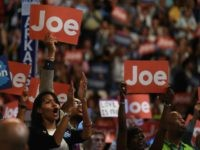 Crowd reacts to Joe Biden (Robyn Beck / AFP / Getty)