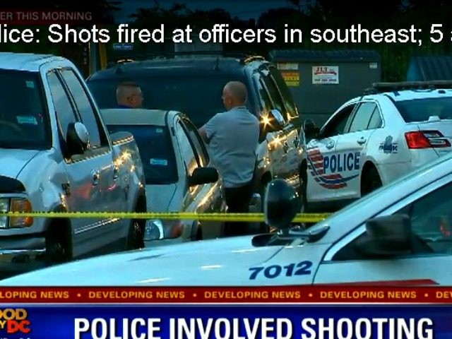 D.C. Shots Fired at Police Fox 5