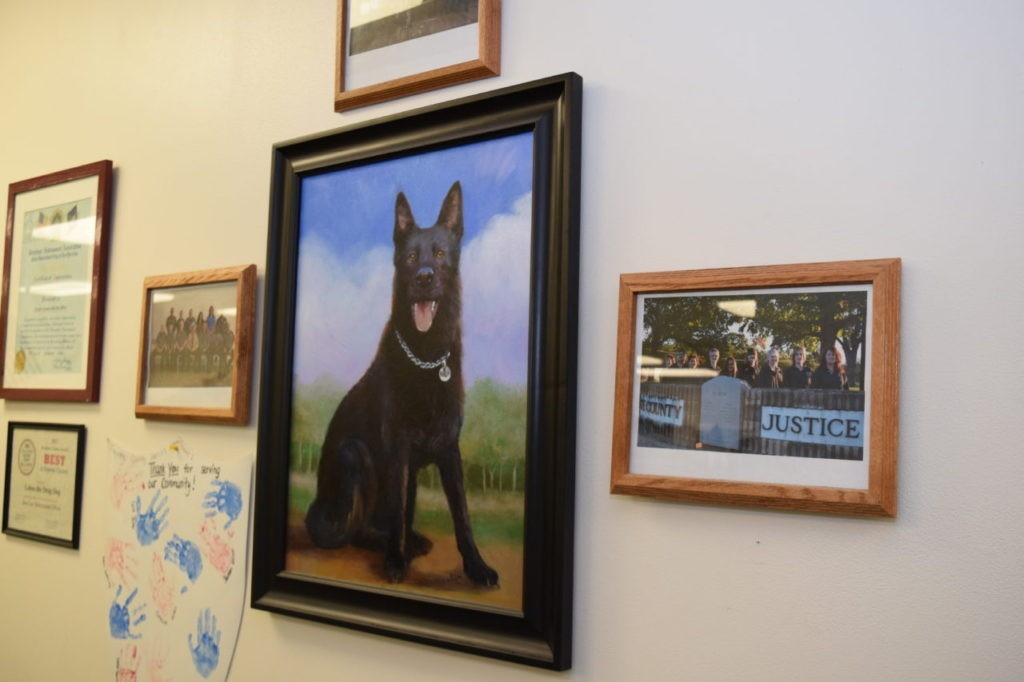 K-9 Deputy Knight died in the line of duty in August 2011. (Photo: Bob Price/Breitbart Texas)