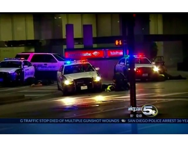 Dallas Police Ambush WKRG 5