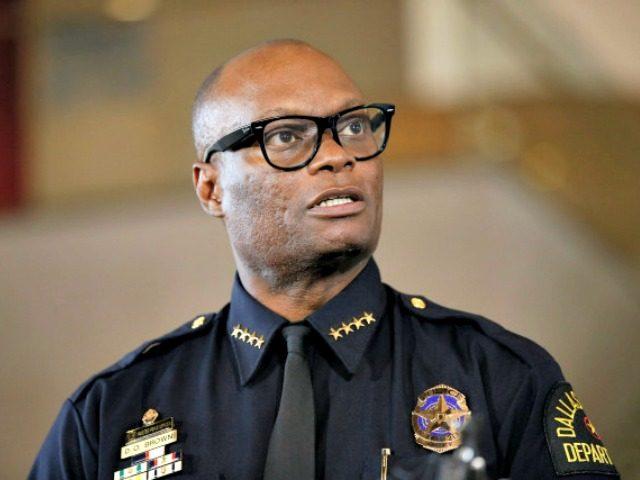 Dallas Police Chief David Brown Tony GutierrezAP