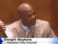 Houston City Councilman Dwight Boykins