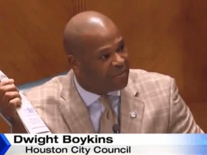 Houston City Councilman Dwight Boykins