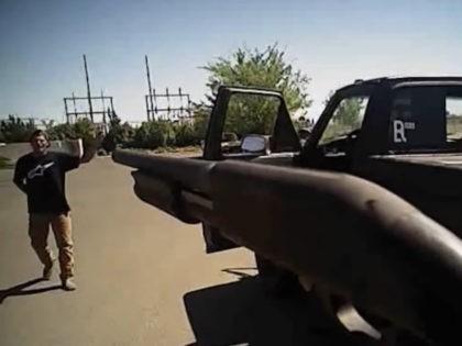 Dylan Noble shooting (Screenshot / LA Times / Fresno PD)