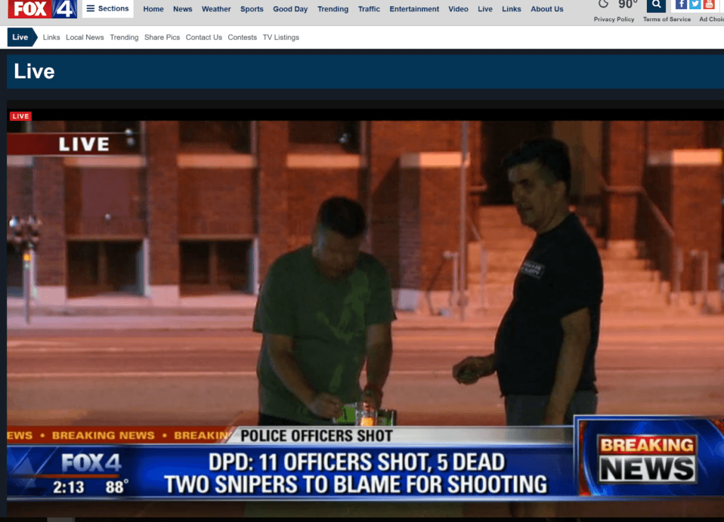 Fox 4 LIVE Men lighting candles (1)