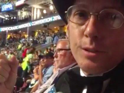 Gay DNC delegate (Joel Pollak / Breitbart News)