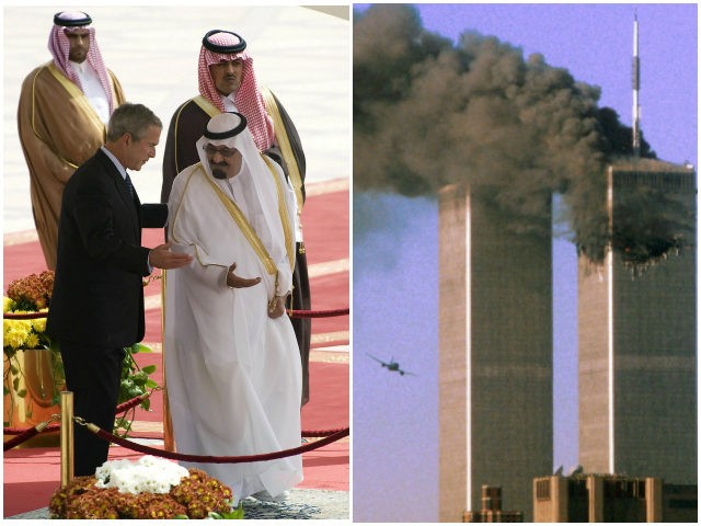 George-W-Bush-Saudis-9-11-Twin-Towers-Getty