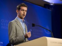 "NEW YORK, NY - SEPTEMBER 23: Jack Dorsey, the Co-Founder and Chairman of Twitter, speaks at a press conference announcing the DNA Foundation's ""Real Men Don't Buy Girls"" campaign against sexual slavery during the annual Clinton Global Initiative (CGI) on September 23, 2010 in New York City. The DNA Foundation …"
