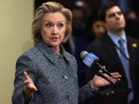 Hillary Clinton answers questions from reporters March 10, 2015 at the United Nations in New York. Clinton admitted Tuesday that she made a mistake in choosing for convenience not to use an official email account when she was secretary of state. But, in remarks to reporters after attending a United …
