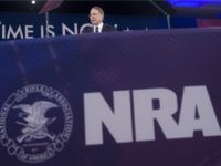 Wayne LaPierre, Executive Vice President of the National Rifle Association (NRA), speaks during the annual Conservative Political Action Conference (CPAC) 2016 at National Harbor in Oxon Hill, Maryland, outside Washington, March 3, 2016. Republican activists, organizers and voters gather for the Conservative Political Action Conference at a critical moment for …