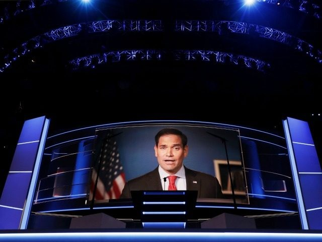 CLEVELAND, OH - JULY 20: on the third day of the Republican National Convention on July 20, 2016 at the Quicken Loans Arena in Cleveland, Ohio. Republican presidential candidate Donald Trump received the number of votes needed to secure the party's nomination. An estimated 50,000 people are expected in Cleveland, …