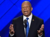 US Representative Elijah Cummings speaks during Day 1 of the Democratic National Convention at the Wells Fargo Center in Philadelphia, Pennsylvania, July 25, 2016. / AFP / SAUL LOEB (Photo credit should read SAUL LOEB/AFP/Getty Images)