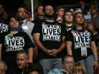 Black Lives Matter Protesters Interrupt DNC Moment of Silence for Fallen Police Officers