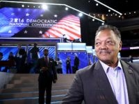Jesse Jackson Strays from Prepared DNC Remarks, Flubs Tim Kaine's Name