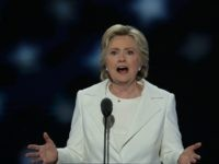 Hillary Clinton Fights Through Bernie Hecklers to Deliver DNC Speech