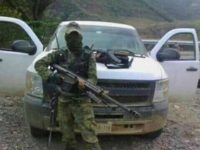 Mexican Cartel Convoy Ambushes Border State Cops, Kills Bystander