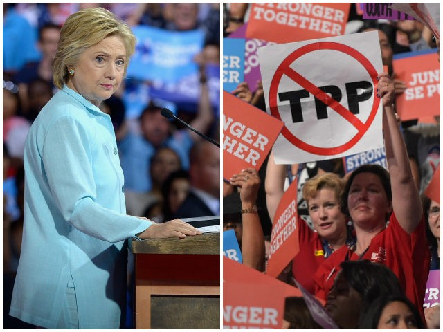 Hillary-Clinton-Anti-TPP-DNC-Getty