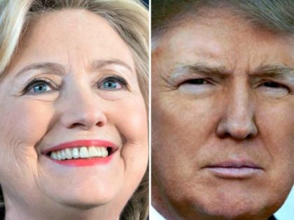 Hillary Clinton and Donald Trump Facebook