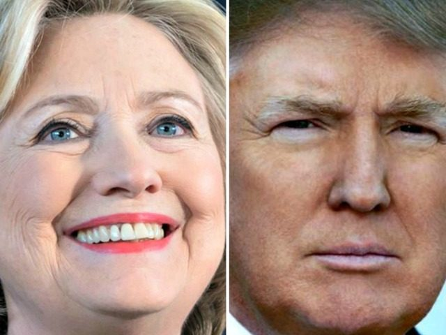 Hillary Clinton and Donald Trump Facebook