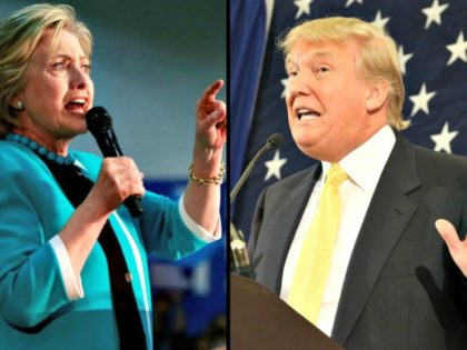 Hillary Cllinton and DonaldTrump Speaking