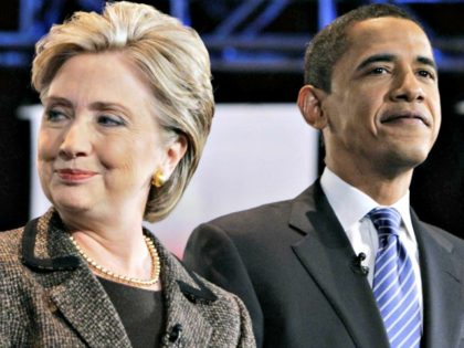 Hillary and Obama 2008 Carolyn Kaster AP