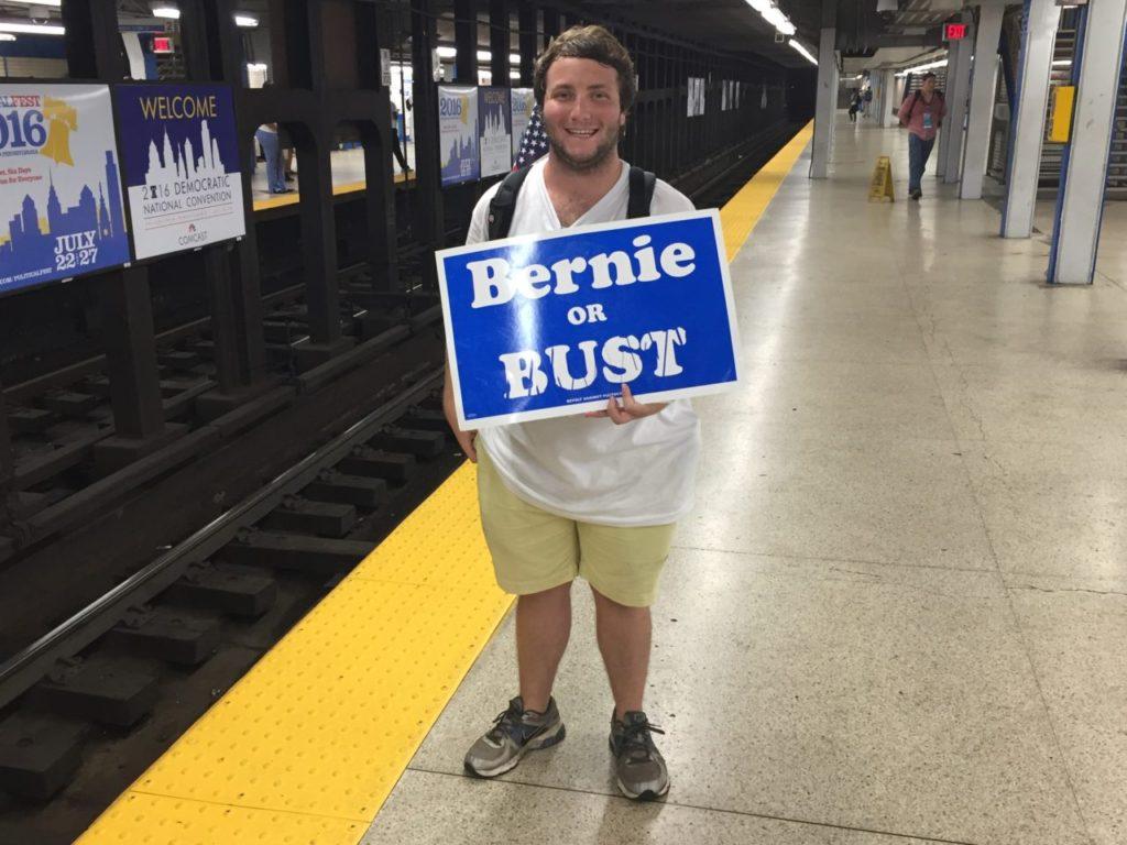 Bernie or Bust (Joel Pollak / Breitbart News)