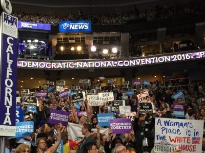 California delegation at DNC (Joel Pollak / Breitbart News)