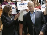 Jerry Brown Kamala Harris (Rich Pedroncelli / Associated Press)