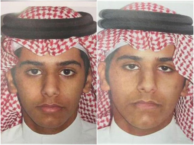 One of Saudi Islamist militant twins, who according to Saudi authorities murdered their mother and tried to kill their father and younger brother for trying to stop them from joining Islamic State in Syria, is seen in this undated handout photo, Saudi Arabia. Saudi Press Agency/Handout via REUTERS