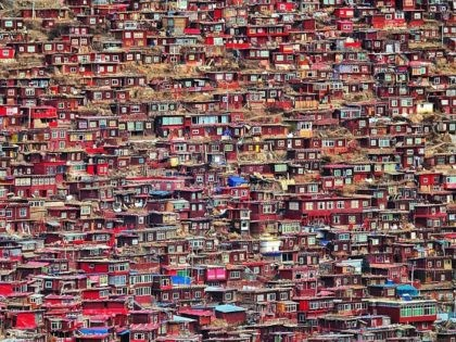 MANDATORY CREDIT: Christian Lindgren/REX Shutterstock. Only for use in story about Christian Lindgren's trvales around the world. No stock, books, advertising or merchandising without photographer's permission.I went to Larung gar in western Sichuan, China and visited the biggest Buddhist school in the world Christian Lindgren's photography of travels around the …