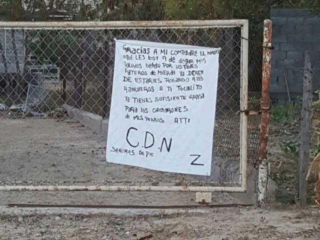 Los Zetas Banner