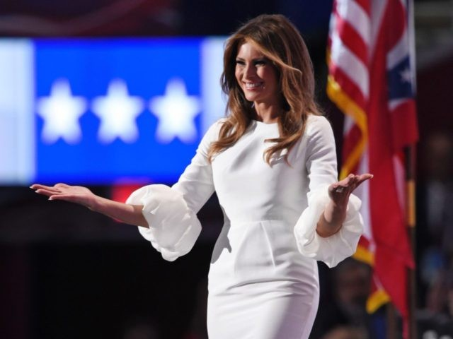 Melania Trump (Dominick Reuter / AFP / Getty)
